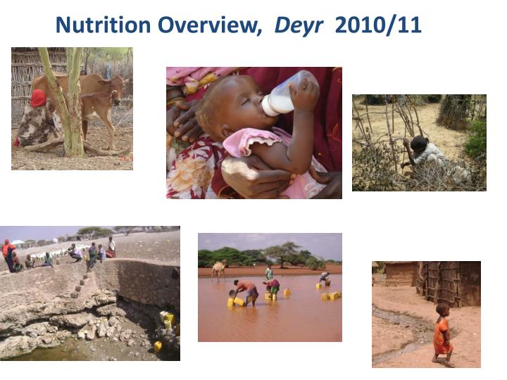 Nutrition Overview,