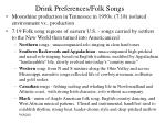 drink preferences folk songs