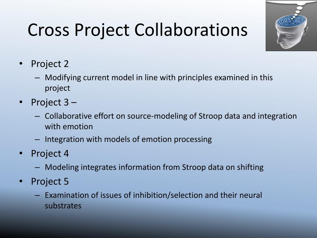 Cross Project Collaborations