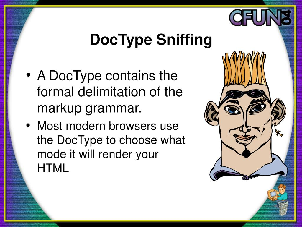 DocType Sniffing
