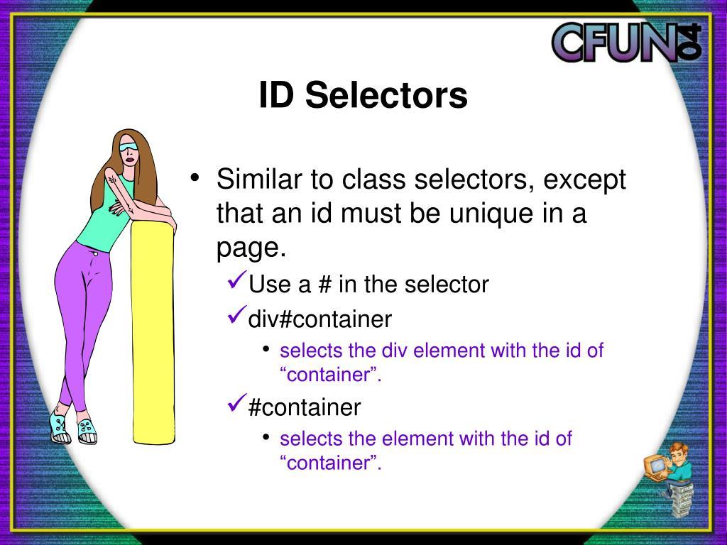 ID Selectors