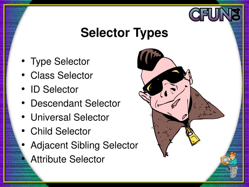 Selector Types
