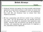 british airways contd