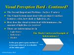 visual perception hard continued5