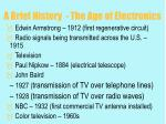 a brief history the age of electronics7