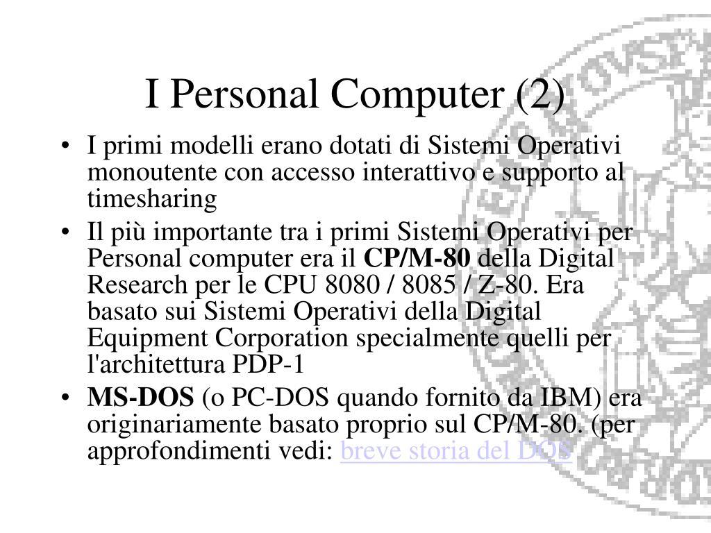 I Personal Computer (2)