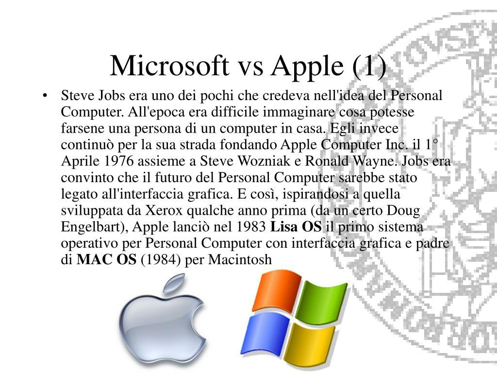Microsoft vs Apple (1)