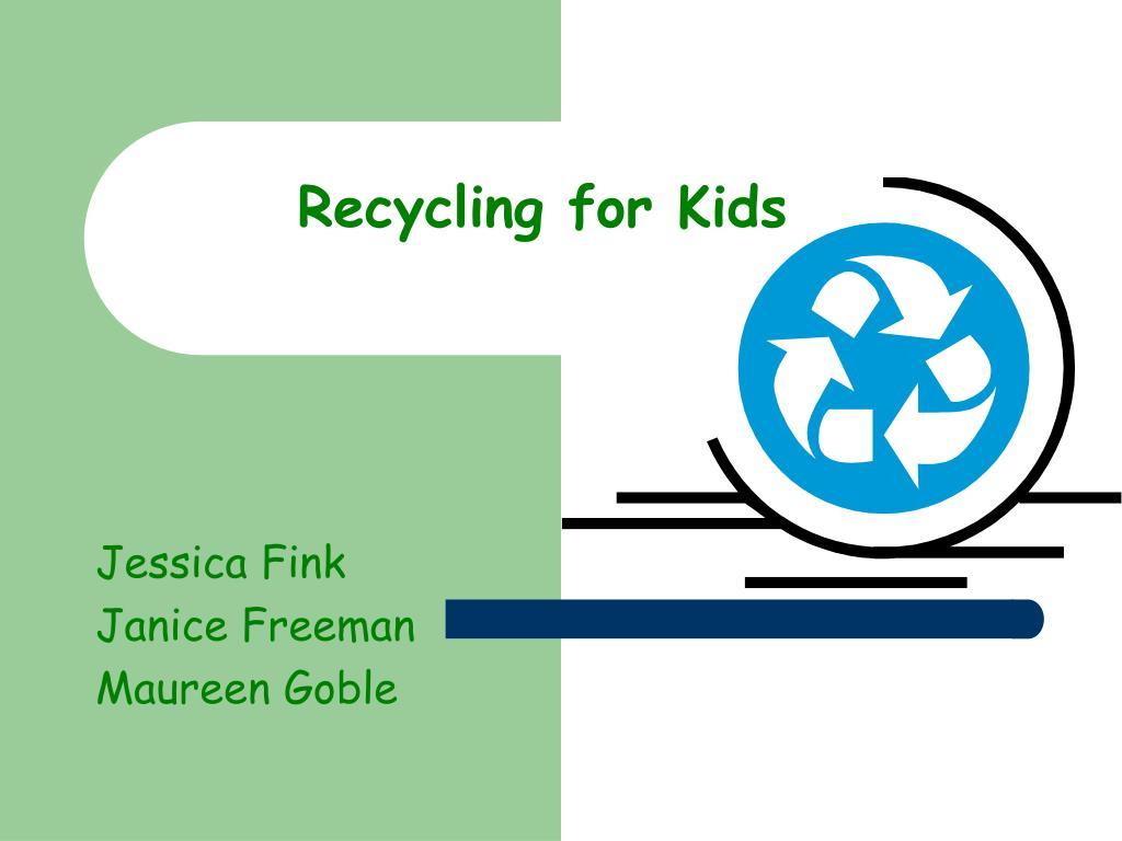 recycling for kids l.
