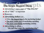 the single biggest thing5