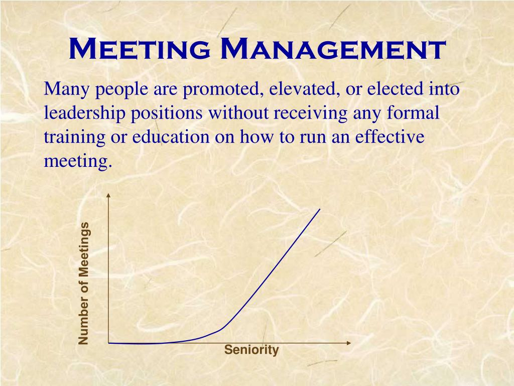 Number of Meetings