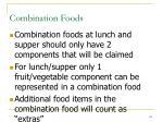 combination foods115