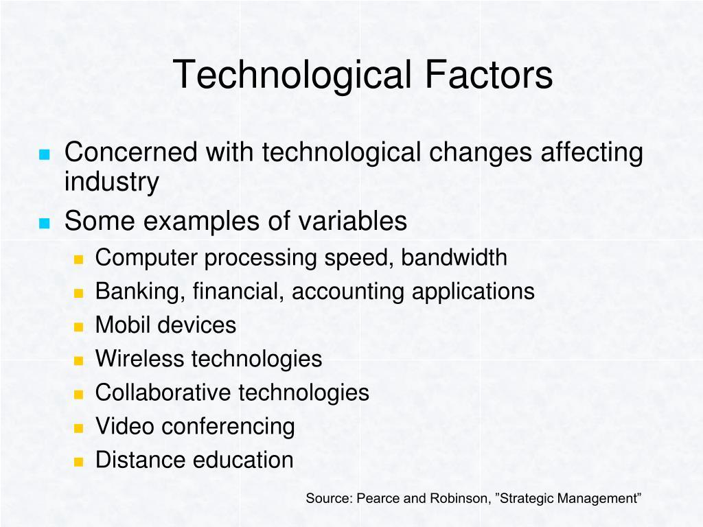 Technological Factors