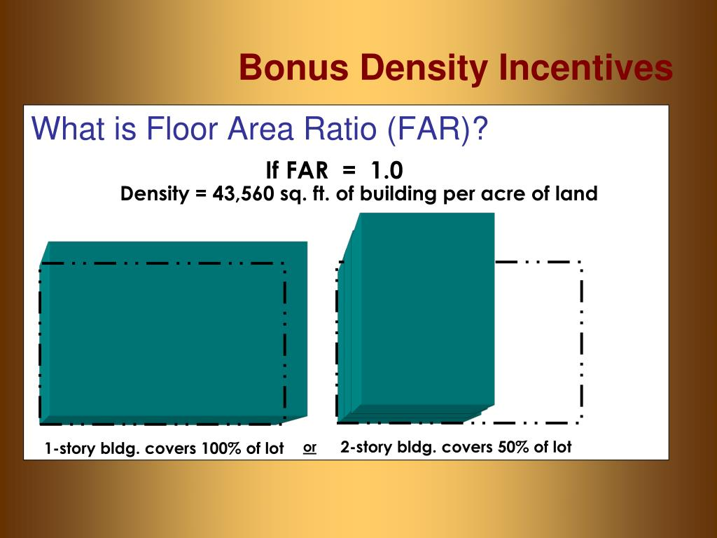 What is Floor Area Ratio (FAR)?
