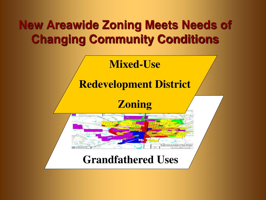 New Areawide Zoning Meets Needs of Changing Community Conditions