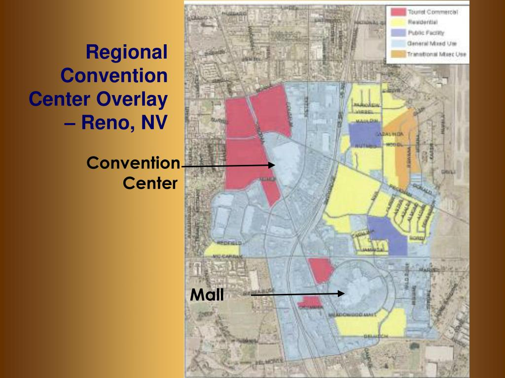 Regional Convention Center Overlay – Reno, NV