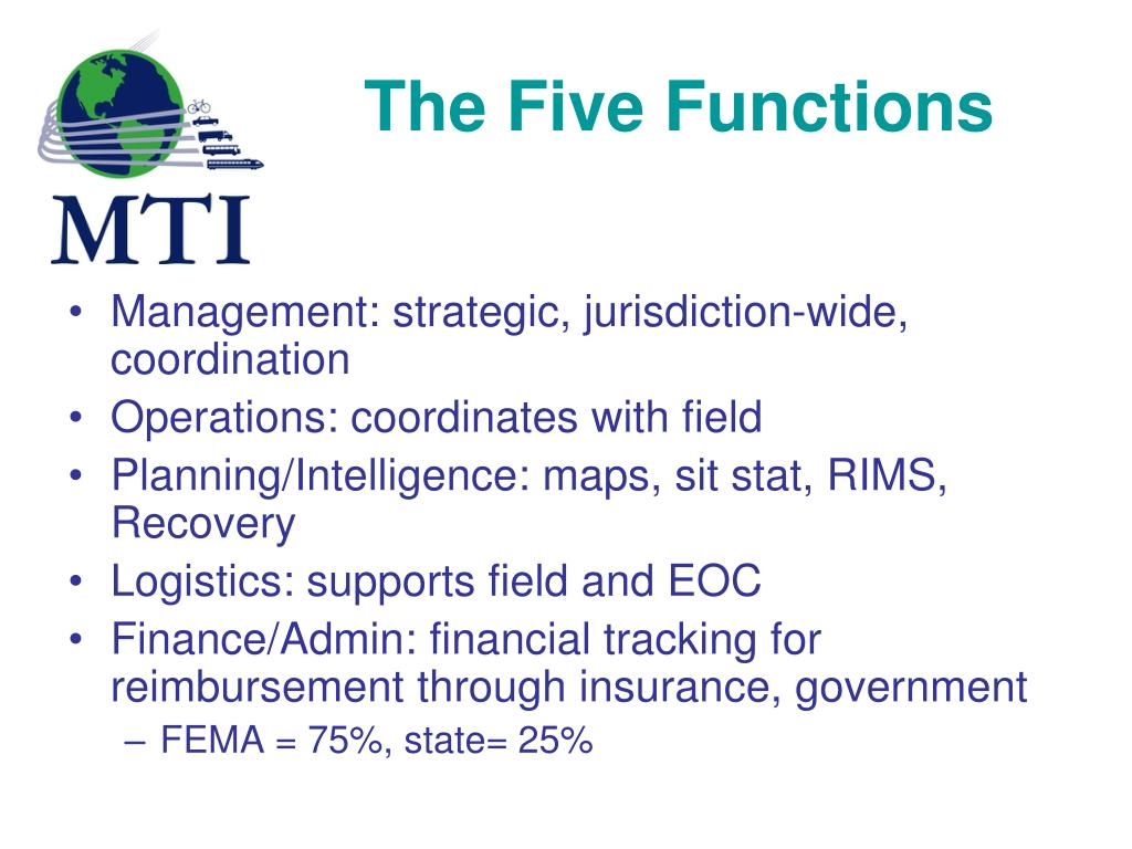 The Five Functions