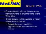 benefits 1996