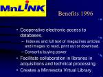 benefits 199610