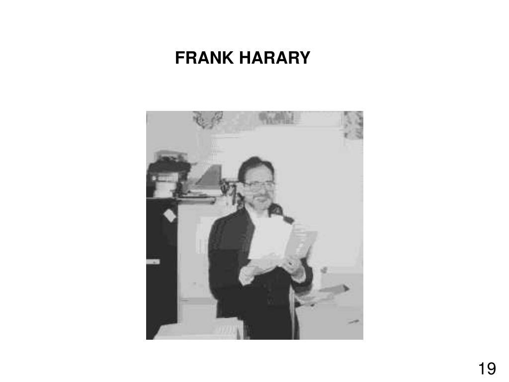 FRANK HARARY