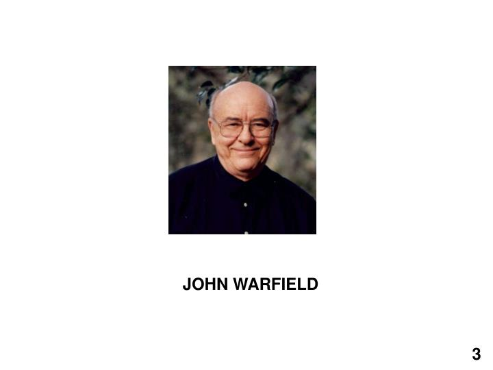 JOHN WARFIELD