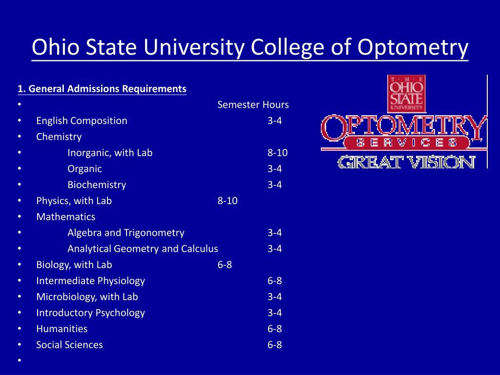 Ohio State University College of Optometry