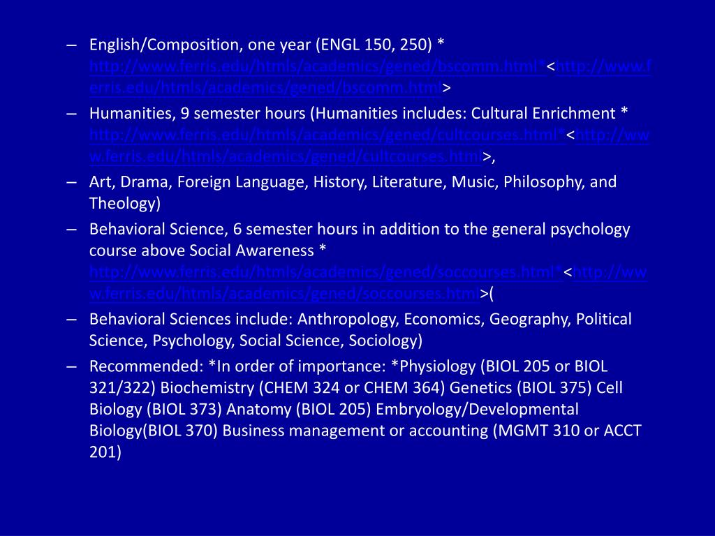 English/Composition, one year (ENGL 150, 250) *