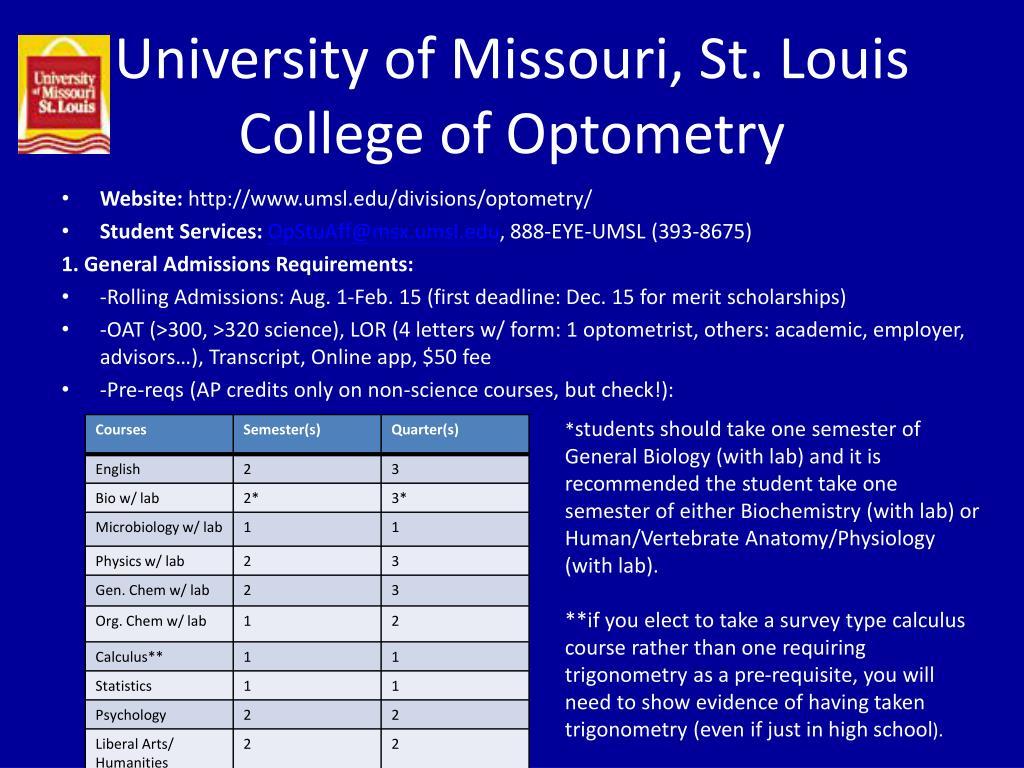 University of Missouri, St. Louis
