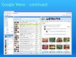 google wave continued