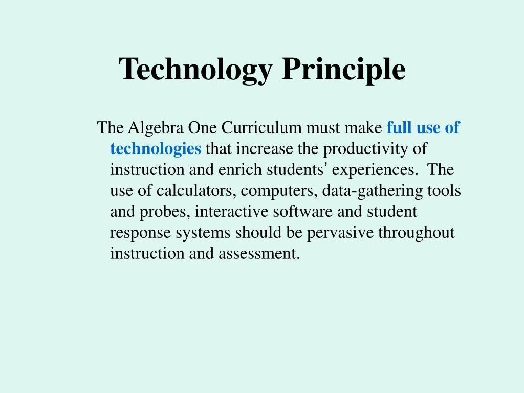 Technology Principle