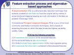 feature extraction process and e igenvalue based approaches