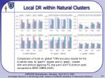 local dr within natural clusters