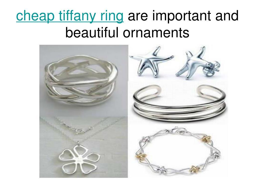 cheap tiffany ring