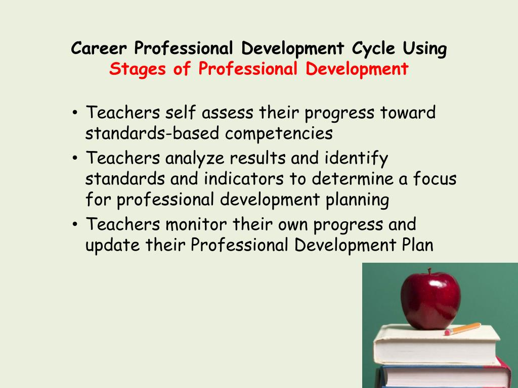 Career Professional Development Cycle Using