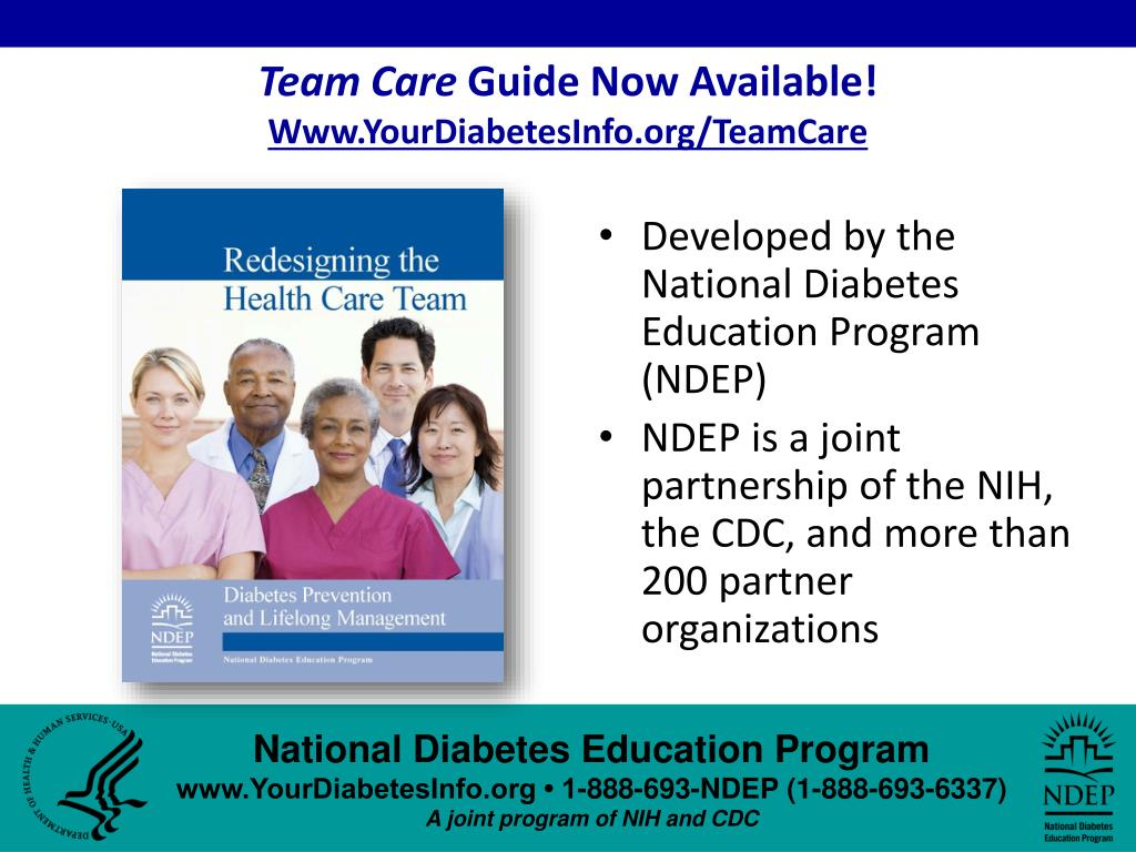 team care guide now available www yourdiabetesinfo org teamcare l.