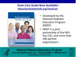 team care guide now available www yourdiabetesinfo org teamcare