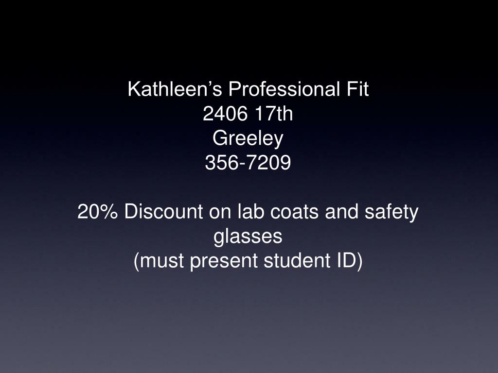 Kathleen's Professional Fit