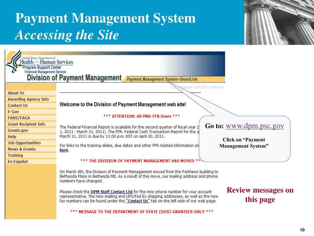 Payment Management System