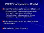 pdrp components cont d14