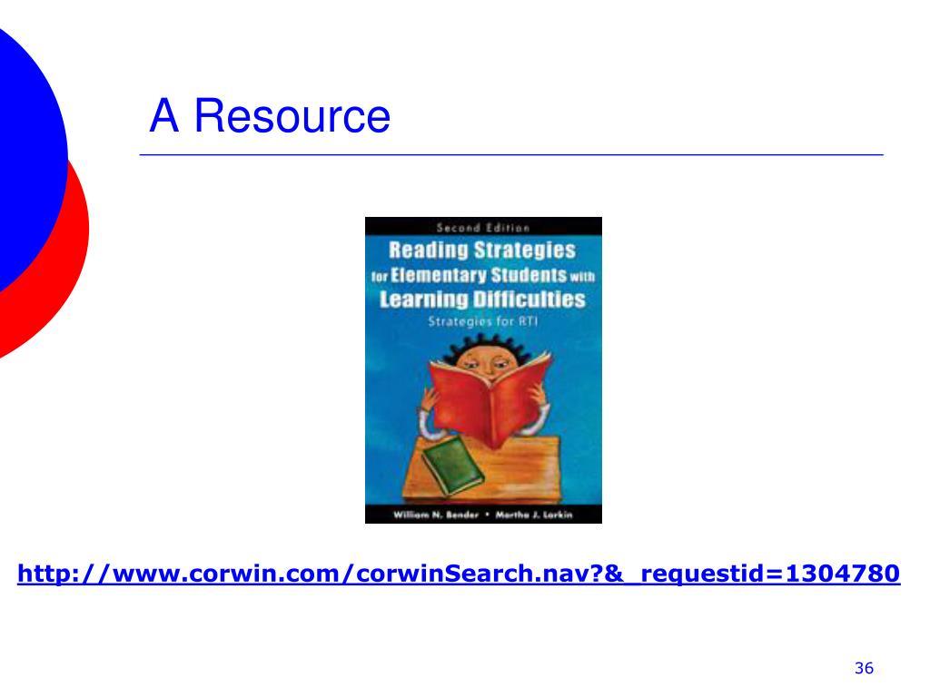 A Resource