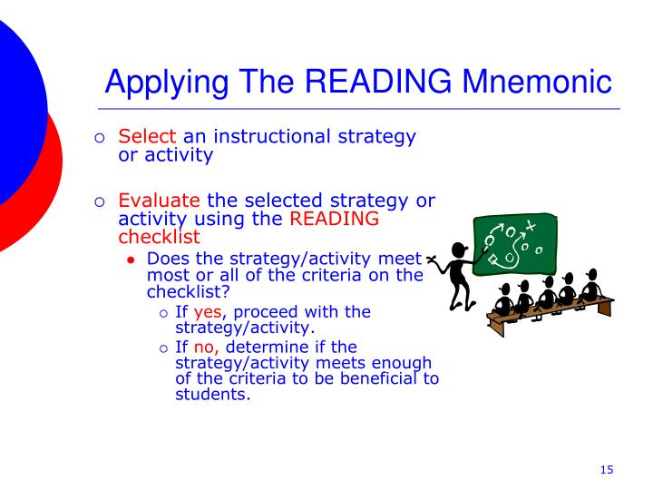 Research Based Instructional Strategies For Reading