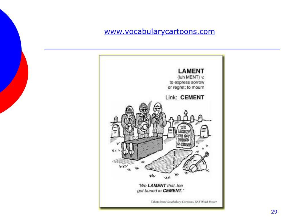 www.vocabularycartoons.com