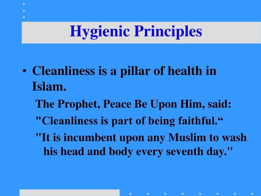 Hygienic Principles