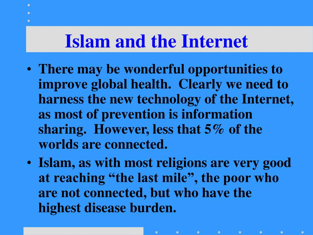Islam and the Internet