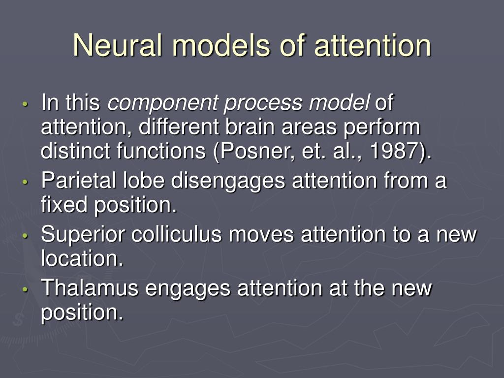 Neural models of attention