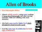 allen of brooks