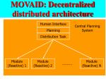 movaid decentralized distributed architecture