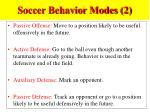 soccer behavior modes 2