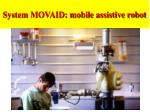 system movaid mobile assistive robot