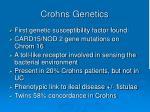 crohns genetics
