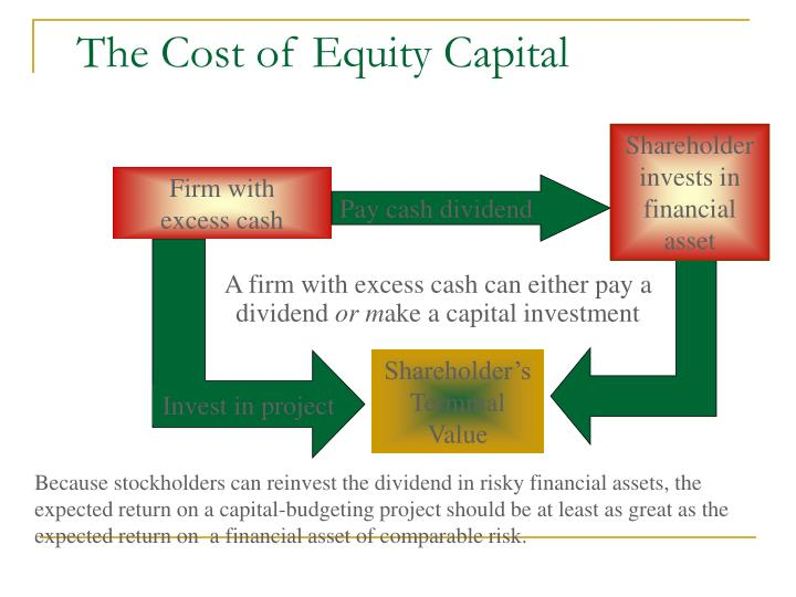 The cost of equity capital